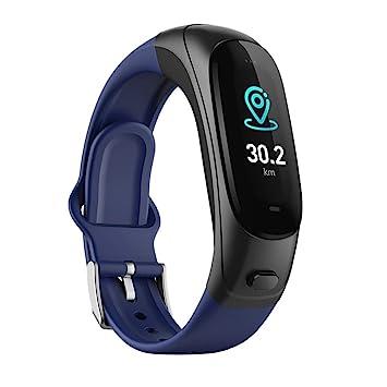 OOLIFENG 3 En 1 Pulsera Inteligente Pulsera Deportiva Relojes Bluetooth Auricular Inalámbrico Fitness Tracker para iPhone Android,Blue: Amazon.es: Deportes ...