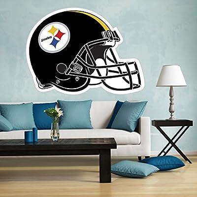 Steelers wall decal, Pittsburgh Steelers decal, Steelers sticker, Steelers decal, Steelers home decor, Steelers car sticker, NFL Pittsburgh Steelers sticker, Steelers stickers bm13