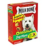 Milk-Bone Original Dog Treats, 10-Ounce Boxes (Pack of 12)