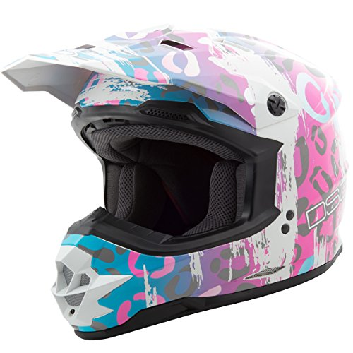 GMAX Unisex-Adult Full-face Style 2769403 Dsg Gm76S Helmet Multi Leopard xs X-Small