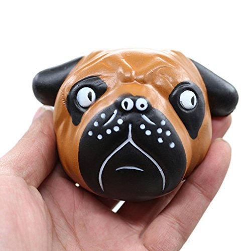 Kawaii Jumbo Squishy Cartoon Exquisite Fun Crazy Dog Scented Charm Slow Rising Simulation Toy Gifts for Kids and Adults - Waymine