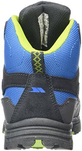 Trespass Cumberbatch, Botas de Senderismo Unisex Niños Azul (Cobalt Kiwi)