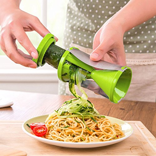 Cake Wedding Pear - Vegetable spiral slicer carrot cucumber zucchini noodle julienne cutter peeler kitchen piece grater cooking tool ZH01021