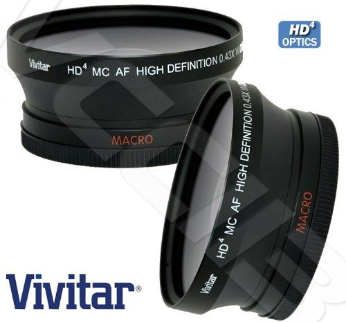 Vivitar 4372W 0.43X 72mm Wide-Angle Lens by Vivitar