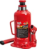 BIG RED T92003B Torin Hydraulic Welded Bottle Jack, 20 Ton (40,000 lb) Capacity