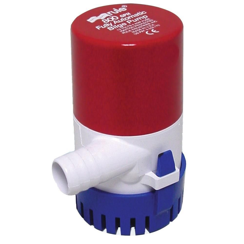 Rule 800 GPH Round Automatic Bilge Pump 12V - Marine Plumbing & Ventilation