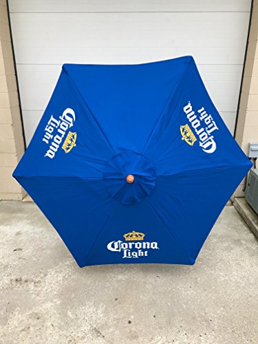Corona Light Beer 7' FT Patio Umbrella