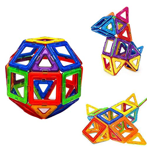 30 Pcs Magnetic Building Blocks, Kids Building Tile Set for Imagination Skill,...