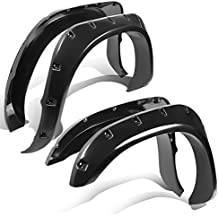 Pocket-Riveted Style Side Fender Wheel Flares Dodge Ram 1500 / 2500 / 3500 4pc Set