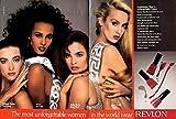 Iman Tatjana Patitz Talisa Soto Jerry Hall for Revlon Cosmetics ad 1987 NY