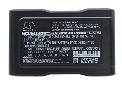 vintrons Replacement Battery For SONY DXC-D50WSP