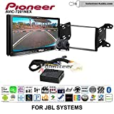 Pioneer AVIC-7201NEX Double Din Radio Install Kit with GPS Navigation Apple CarPlay Android Auto Fits 2011-2013 Toyota Matrix with Amplified System