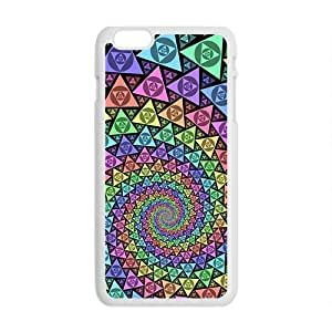 colorful tie dye iphone 6 plus - 5.5 Plastic And TPU (Laser Technology) Durable Case