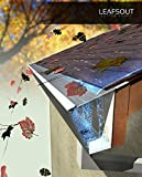 "LeafsOut 5"" WIDE, DIY Micro Mesh Rain Gutter Guard System – 23' LONG, Stainless Steel"