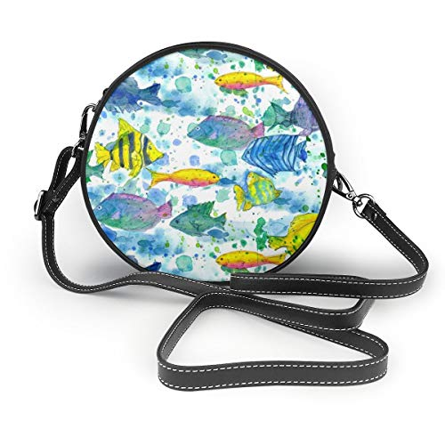 Handbags Tropical Fish PU...