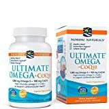 Nordic Naturals Ultimate Omega with CoQ10 - Soft Gels to Support Overall Heart Health and Energy Needs, 60 Count (FFP)