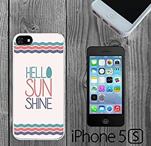 Cute Girly Hello Sun Shine Quote Custom made Case/Cover/skin FOR iPhone 5/5s