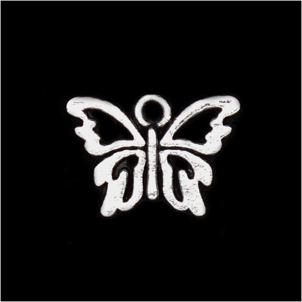 Butterfly Charm//Pendant Tibetan Antique Accessory Crafts