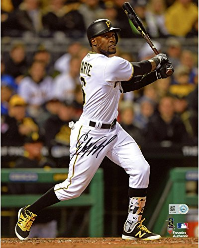 Starling Marte Pittsburgh Pirates Autographed 8