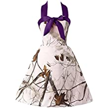 Sunvary Sweety 16 White Camo Cocktail Graduation Homecoming Prom Dresses