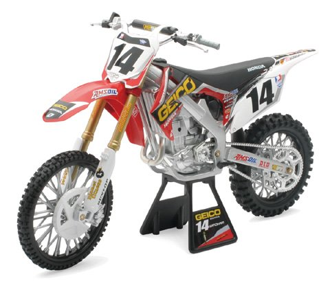 New Ray Toys 1:6 Scale Racer Replica - Geico Powersports Kevin Windham 2012 (Kevin Windham Motocross)