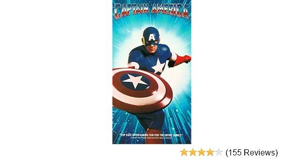 Amazon.com: Captain America [VHS]: Matt Salinger, Ronny Cox, Darren  McGavin, Ned Beatty, Albert Pyun: Movies & TV
