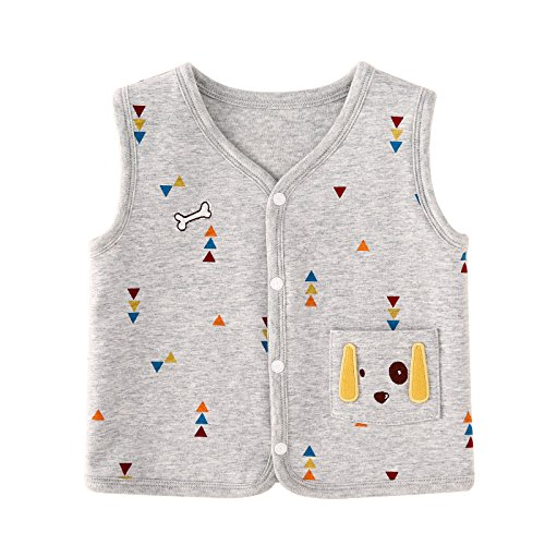 a71363516 Galleon - Pureborn Baby Boys Sleeveless Vests Cotton Lightweight ...