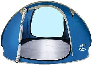YAzNdom Tente de Plage et Tente de Camping, Tente portative Facile à Installer et à l'extérieur, abri Soleil