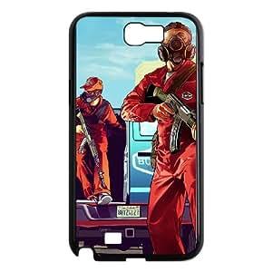 Samsung Galaxy N2 7100 Cell Phone Case Black Grand Theft Auto V BNY_6959264