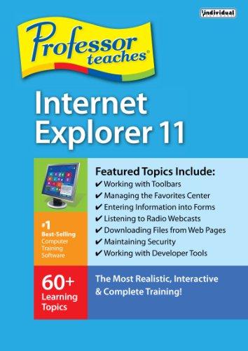 Professor Teaches Internet Explorer 11 [Download]