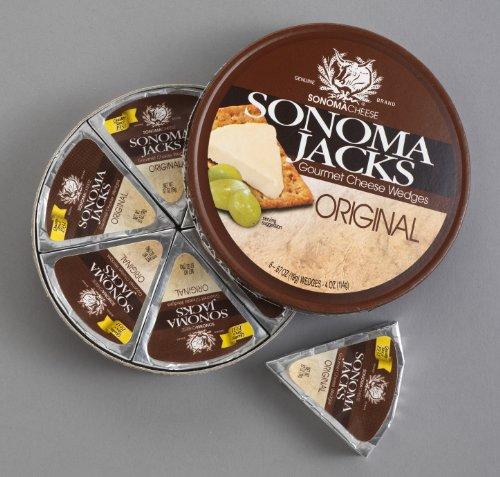 Sonoma Jacks Cheese Wedges Original Swiss 4oz by Sonoma Jacks (Image #1)