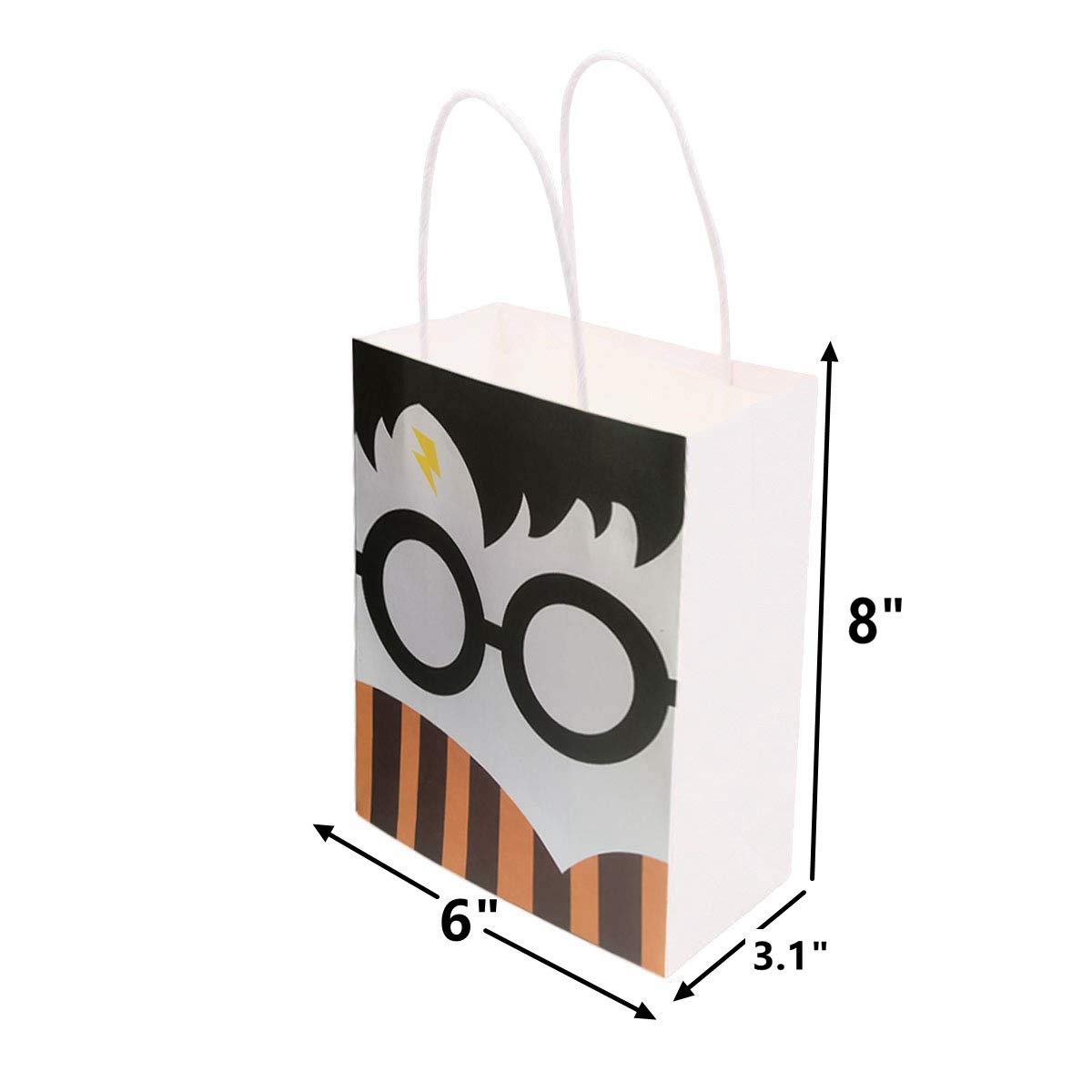24PC Magical Wizard School Gift Bag for Harry Potter Birthday Party Decorations Supplies by MC TTL (Image #3)