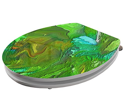 Tapa de inodoro Your Design Pegatinas Pegatinas ba/ño Asiento de WC Tapa de inodoro Your Design Adob 002671