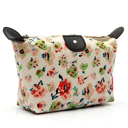 Clearance! Bookear 1PC Fashion Women Travel Make up Cosmetic Pouch Bag Clutch Handbag Casual Purse (Green)