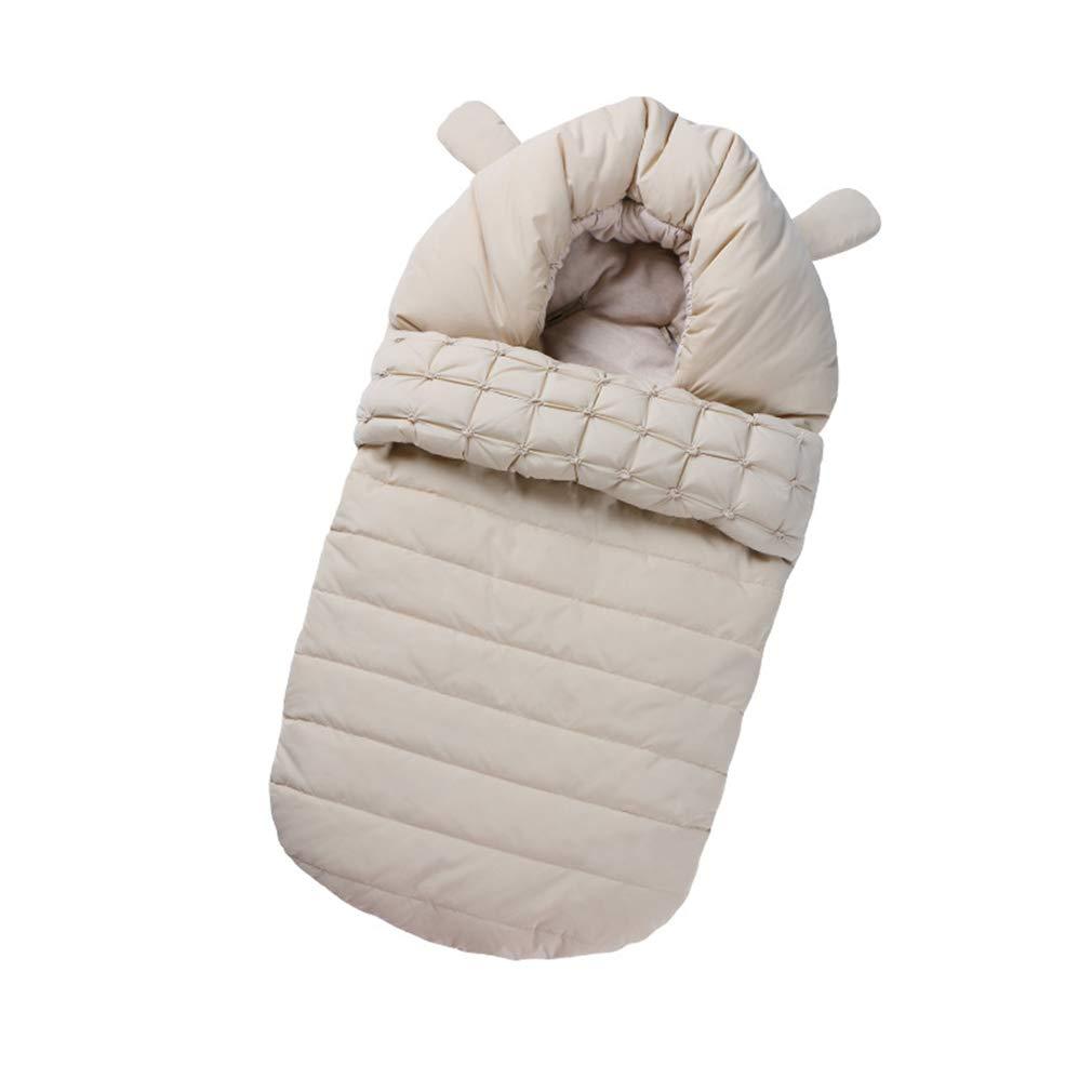 Stroller Bunting Sleeping Bag Newborn Footmuff Infant Sleepsack Windproof Brown