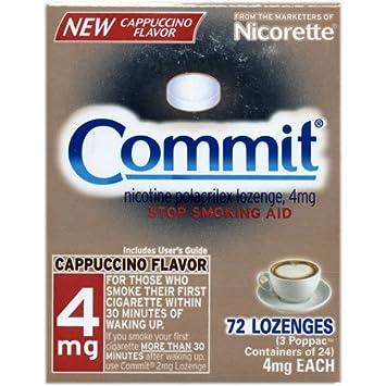 Commit lozenge helps stop smoking
