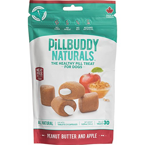 (Complete Natural Nutrition Pill Buddy Naturals Peanut Butter & Apple, 30ct)