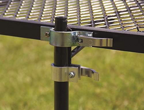 Texsport Heavy Duty Barbecue Swivel Grill for Outdoor BBQ over Open Fire