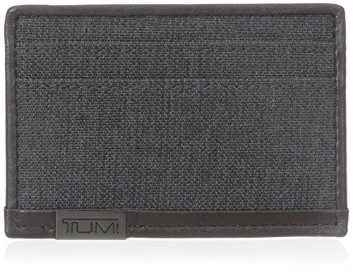 TUMI Men's Alpha Slim Card Holder, Anthracite, One Size