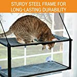 K&H Pet Products EZ Window Mount Kitty Sill - Single Level or Double Stack 8
