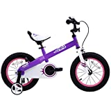 RoyalBaby CubeTube Honey 12'  Bicycle for Kids, Red
