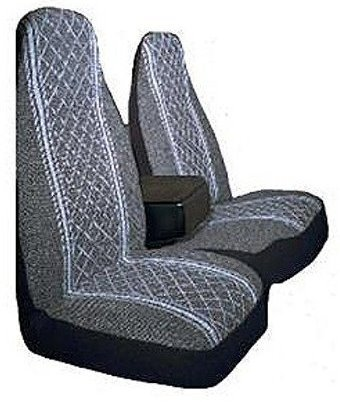 (Allison 67-1917GRY Gray Diamond Back 60/40 Split Truck Seat Cover ( Pack of)