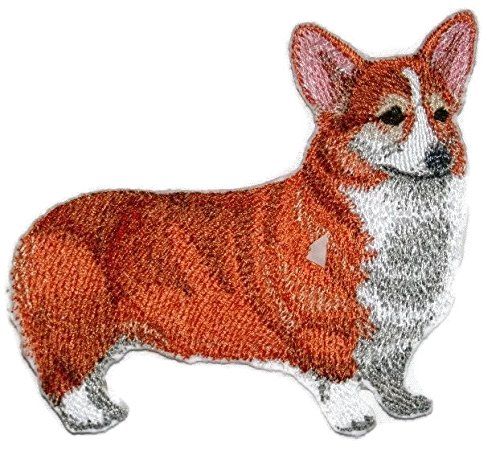 Amazing Custom Dog Portraits[Pembroke Welsh Corgi] Embroidered Iron On/Sew patch [4.