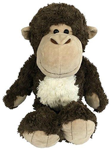 Monkey Stuffed Animal | Plush Toy | Soft Cute Brown Monkey - Chimpanzee - Ape | A New Best Buddy For Your Cheeky Chimp