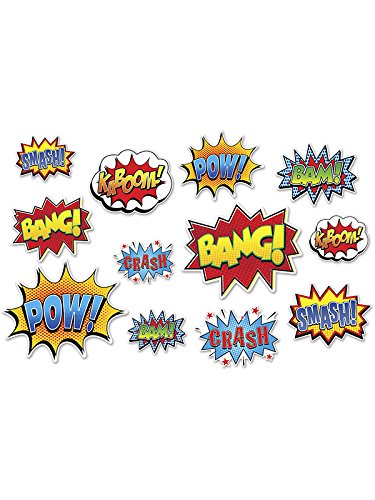 Hero Action Sign Cutouts (Prtd 2 Sides) -