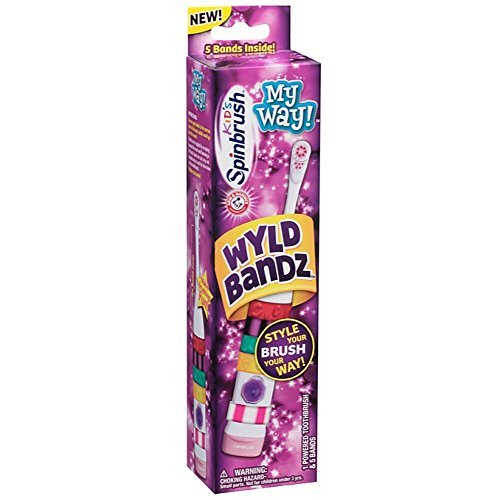 Amazon.com: ARM & HAMMER Kids My Way! Colors May Vary Spinbrush 1 ea: Beauty
