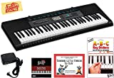 Best Casio Music Keyboards - Casio CTK-2550 Portable Keyboard Bundle with Power Supply Review