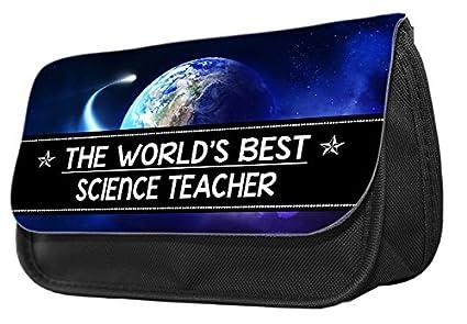 The Worlds Best Science Teacher - Estuche para lápices ...
