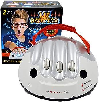 BRXY - Detector de mentiras para Juegos de polígrafo Interesante, Prueba de Verdad o Juego de atrevidos para Fiestas, analizador, Consolas, Regalos: Amazon.es: Juguetes y juegos