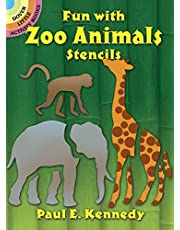 Fun with Zoo Animals Stencils
